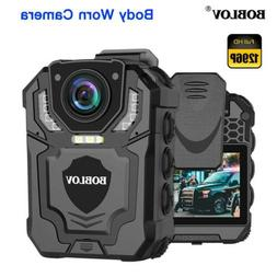 BOBLOV T5 1296P Body Camera Expand Memory Supported Max 128G