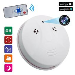 Mini HD 1080P SPY Camera Hidden Smoke Detector Motion Detect