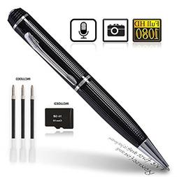 HD 1080p Hidden Camera Pen with Photo Taking Function, Cover