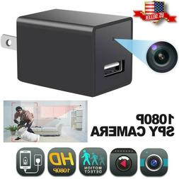 Hidden Spy Mini Camera 1080P Full HD Charger  Motion Detecti