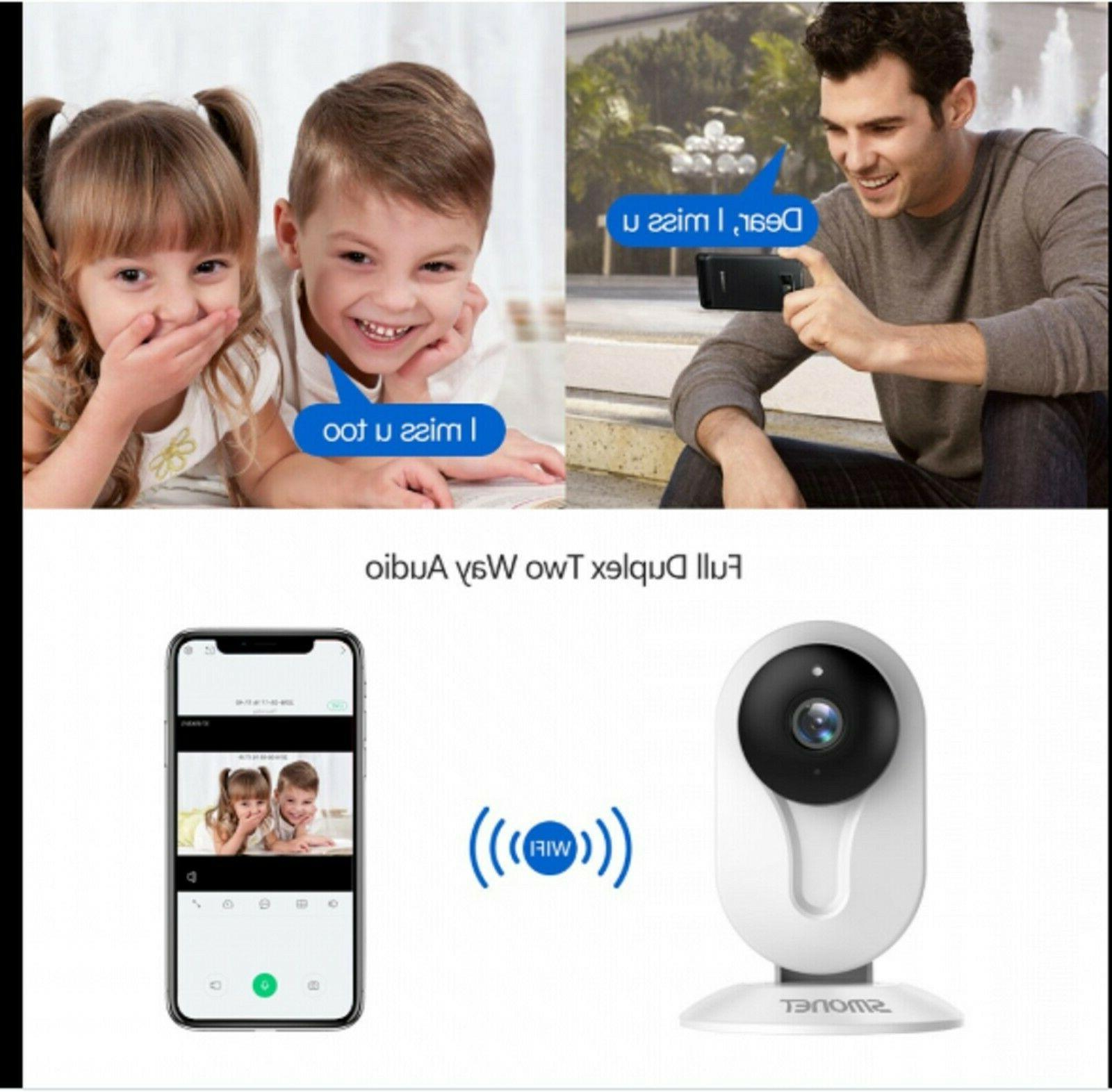 SMONET IP Security Home w Audio, Night Vision, HD