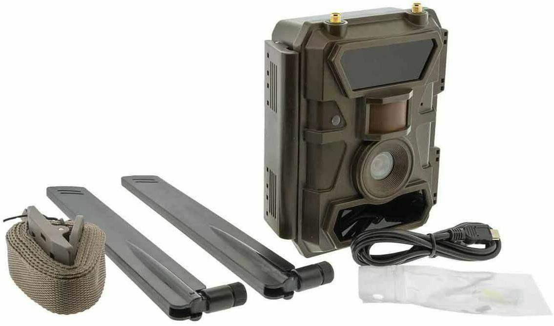 remote scout cellular 4g outdoor camera 4g