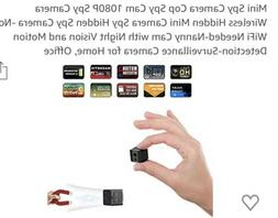 Ehomful Mini Camera E003 Cop, Spy Cam with Night Vision and
