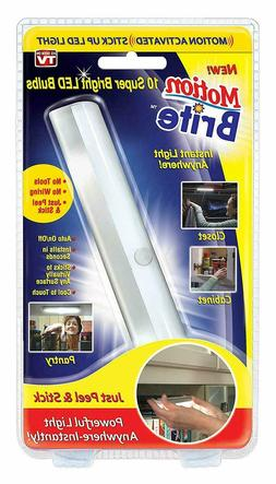 Motion Brite - Motion Activated Stick Up LED Light - As Seen