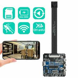Real 4K Wireless Spy Camera Security Camcorder APP Control M