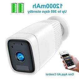 Wireless Rechargeable Battery Camera,FUVISION 1080P Outdoor